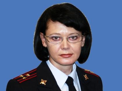 Начальник пресс-службы Управления МВД по Приморскому краю Ирина Сырова