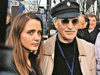 Иван Краско с невестой Наташей