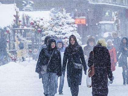 В воскресенье текущей недели в Москве снова начнется снегопад