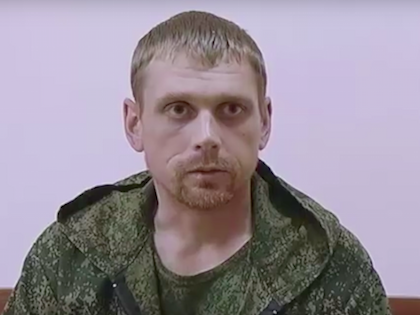 Пойманный на Украине россиянин Владимир Старков