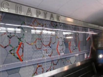 Болельщик хотел сделать селфи на фоне интерьера станции «Спартак»