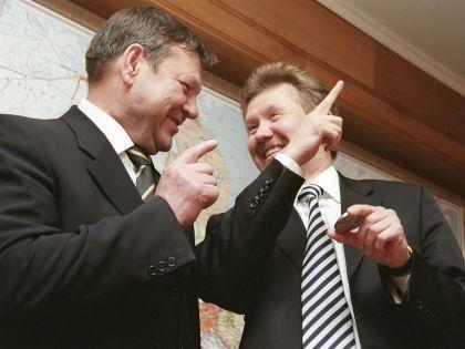 Валерий Сердюков и Алексей Миллер