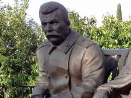 Памятник Сталину в Крыму