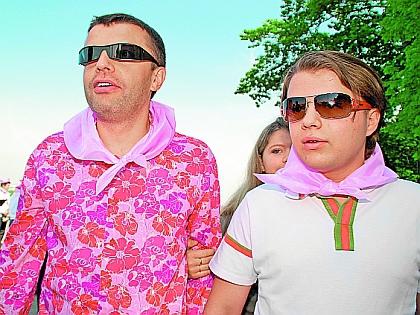 Леонид Парфенов с сыном Иваном