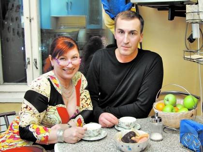 Роза Сябитова с бывшим возлюбленным