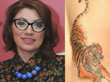 Роза Сябитова: Это тату внушает мне определенные качества. Я же Тигр по гороскопу