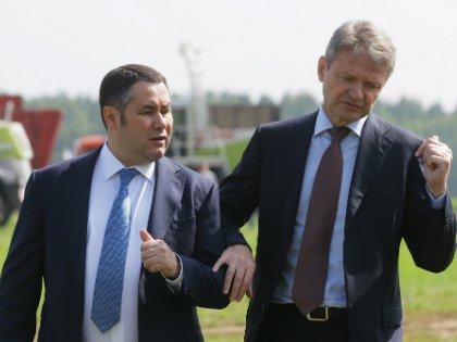 В результате вертикаль власти пошатнулась (на фото справа – сельхозминистр Ткачев)