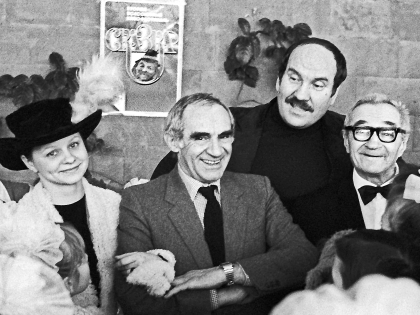 Валентин Букин с коллегами