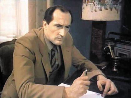 Клюев в фильме «ТАСС уполномочен заявить...»