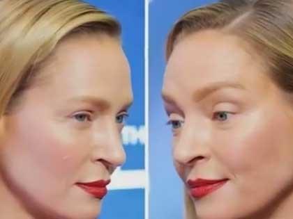 Актриса после преображения