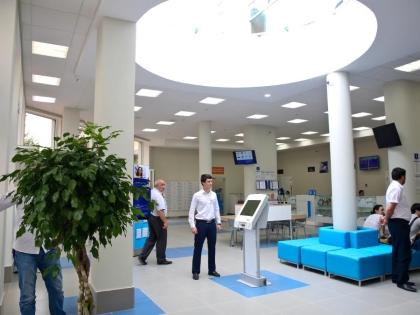 Площадь нового офиса — 3580 кв. м