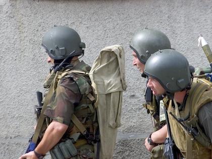 Российских спецназовцев задержали на территории Украины 16 мая