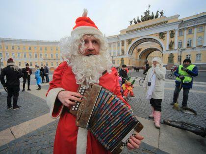 Дед Мороз в Санкт-Петербурге