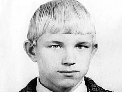 Михаил Евдокимов в детстве