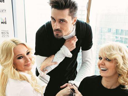 Лера Кудрявцева, Дима Билан и Валерия