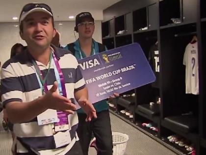 Visa является одним из основных спонсоров FIFA