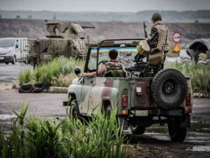 Военнослужащие на Украине