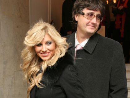 Ирина Нельсон с мужем Вячеславом Тюриным