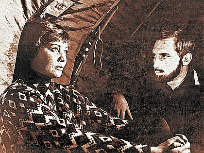 Владимир Высоцкий и Лариса Лужина