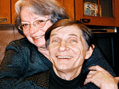 Актер Игорь Ясулович с женой
