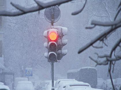 Прирост снега может составить от 3 до 8 сантиметров