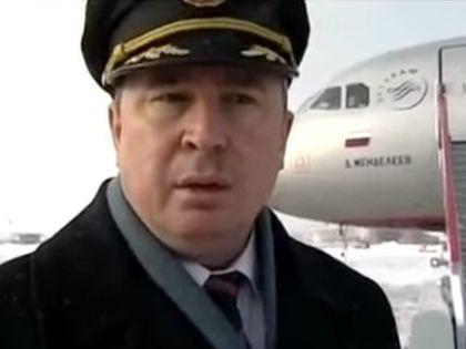 Пилот Андрей Литвинов