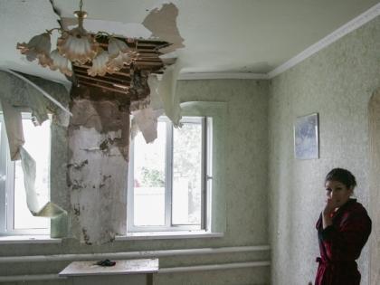 Разрушения в жилых домах