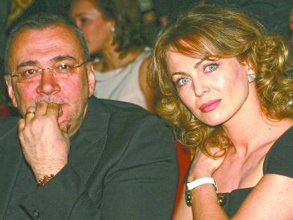 Константин Меладзе с женой