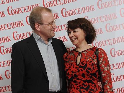 Мечислав с женой Ольгой