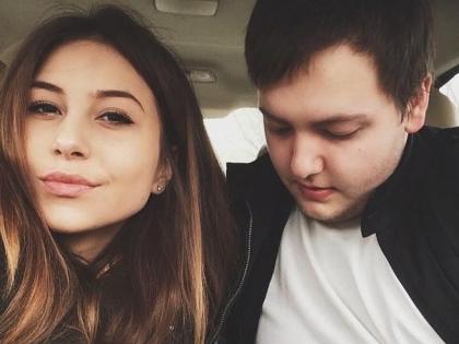 Никита Челядинов со своей девушкой Златой
