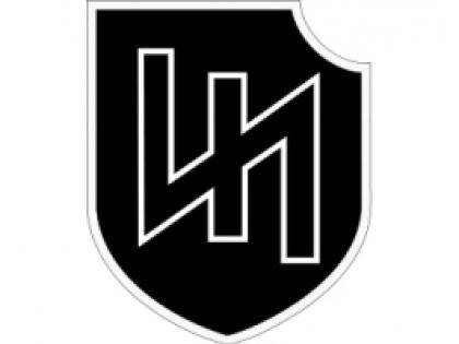 """Эмблема """"Идеи нации"""", вызвавшая потасовку на митинге в Харькове. Фото Википедия"""