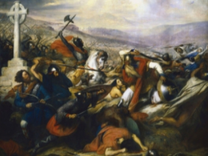 """Карл Штейбен, """"Битва при Пуатье 732 года"""""""