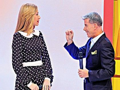 Анастасия Гребенкина и Олег Газманов