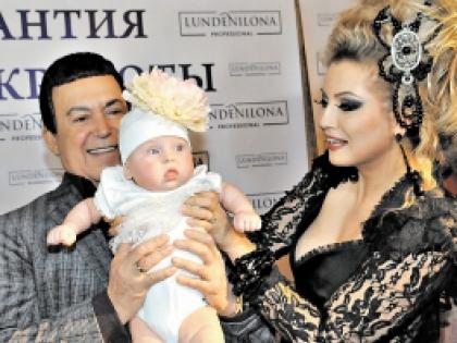 Иосиф Кобзон и Лена Ленина
