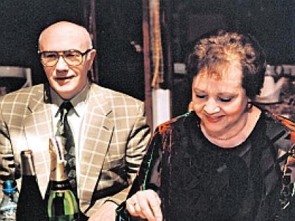 Леонид куравлев с супругой