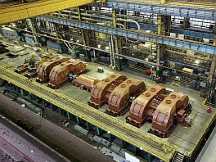 Производство турбин для Нововоронежской АЭС-2