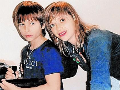 Юлия Салтовец и Андрей
