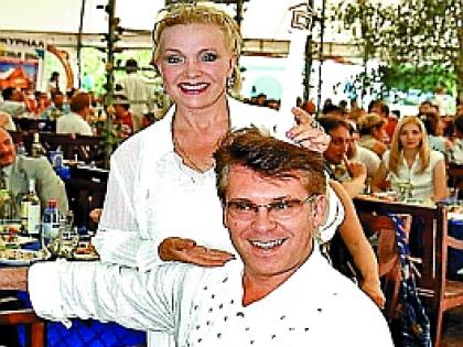 Екатерина Шаврина с Владимиром Березиным