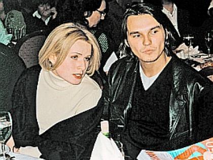 Влад Сташевский с бывшей женой Ольгой Алешиной