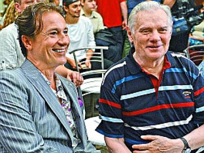 Владимир Андреев и Олег Меньшиков