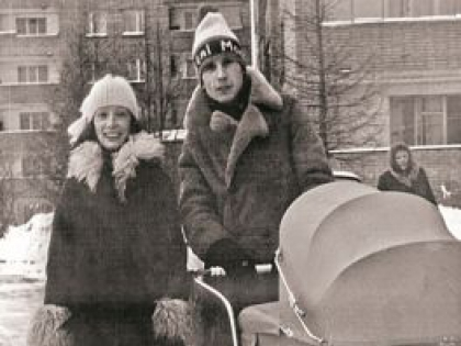 Ольга Зарубина, Александр Малинин и их дочь Кира